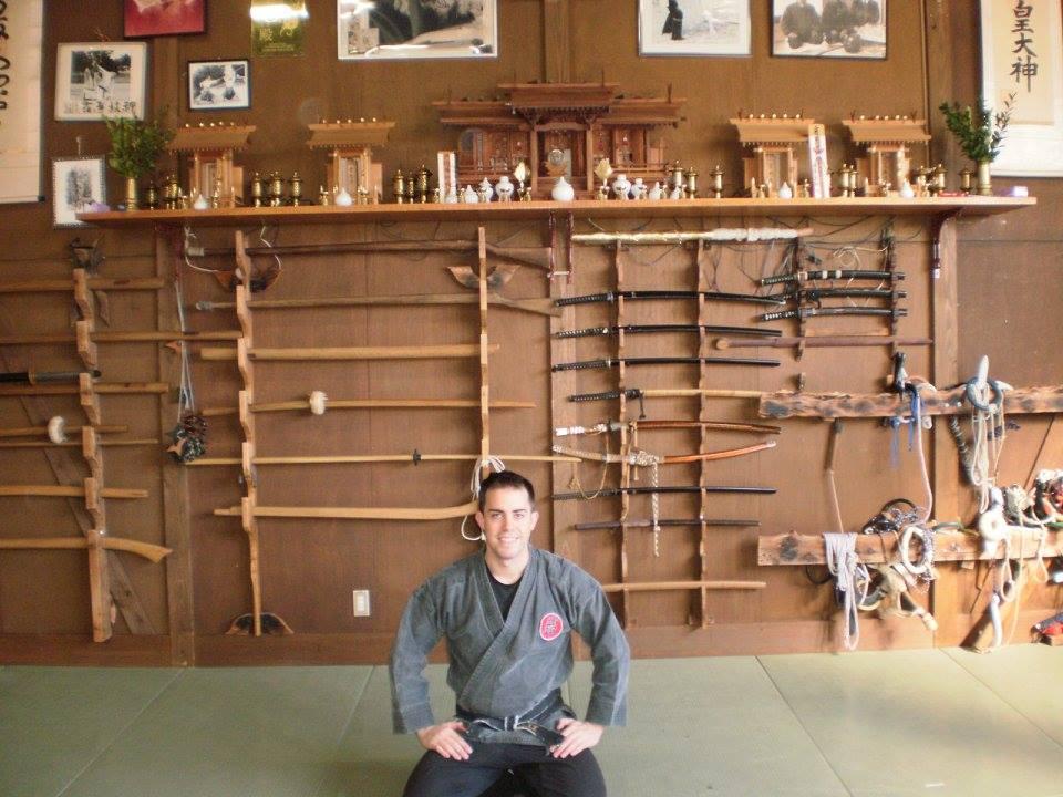 Shihan Rubén Maroto en el Honbu Dojo (Japón) 2015