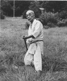 Takamatsu Sensei con bo