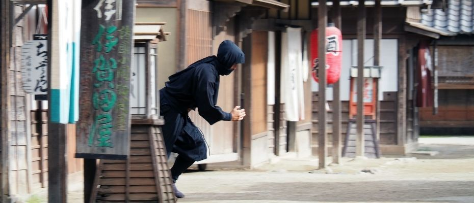 Técnicas de escape ninja